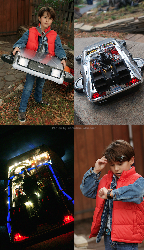 Back to the Future Halloween Costume 2015