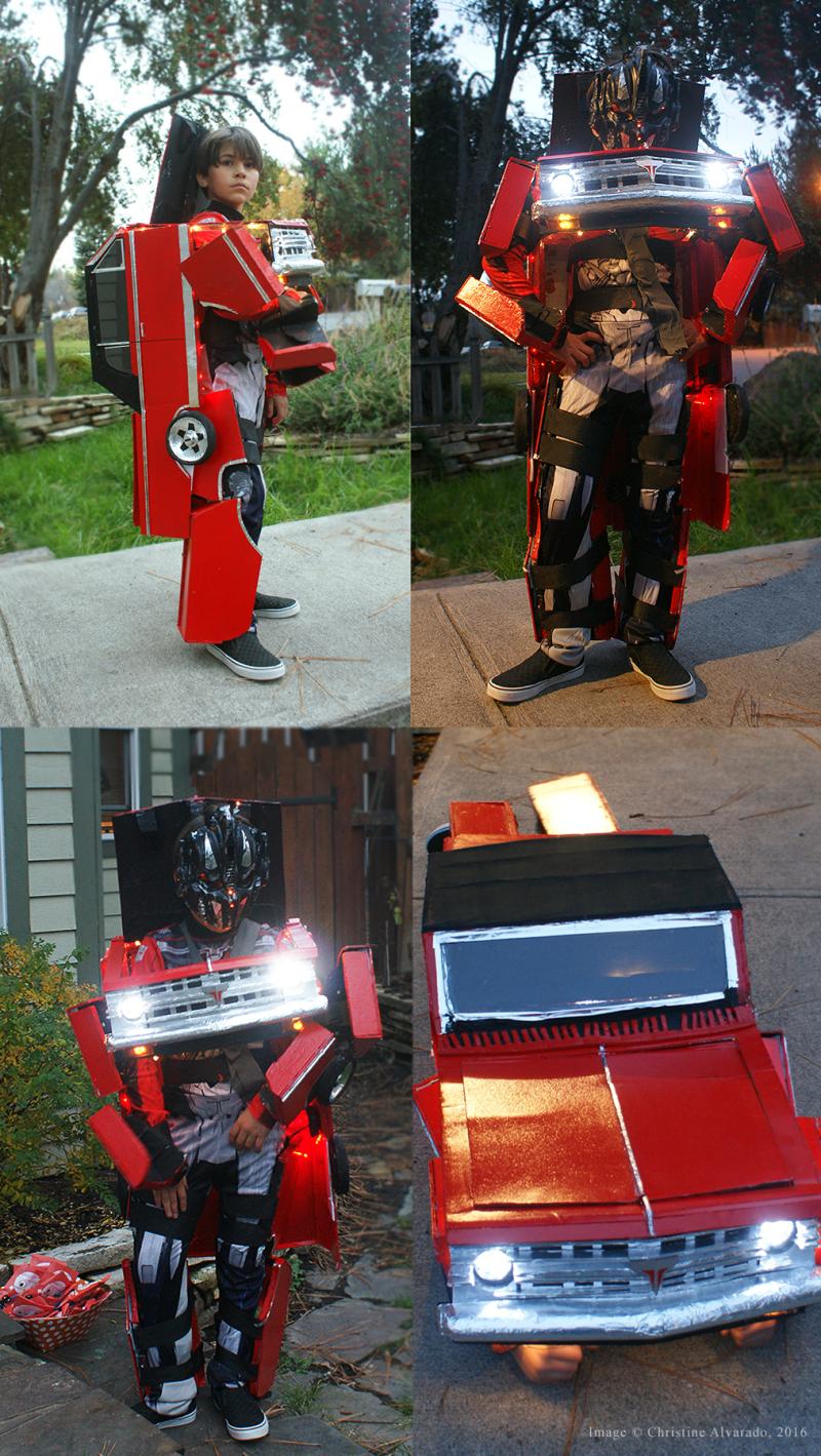 Transformer Costume 2016